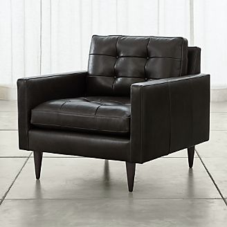 Leather Sofas Chairs Crate And Barrel