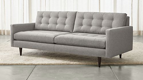 sofas couches and loveseats on sale crate and barrel