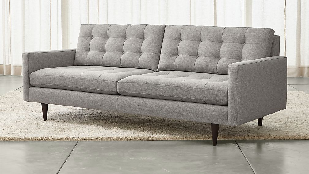 Petrie mid century sofa reviews crate and barrel for Couch und sofa fürth