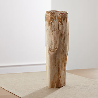 Petrified Wood Sculpture Large
