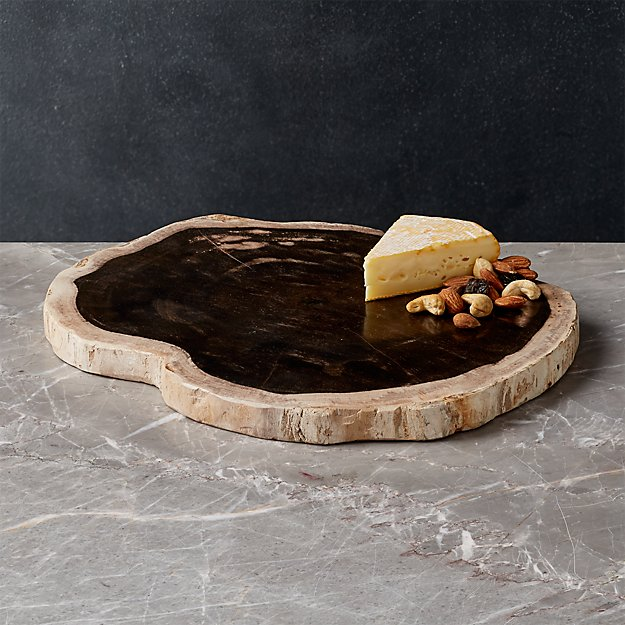 Petrified Wood Serving Board - Image 1 of 1