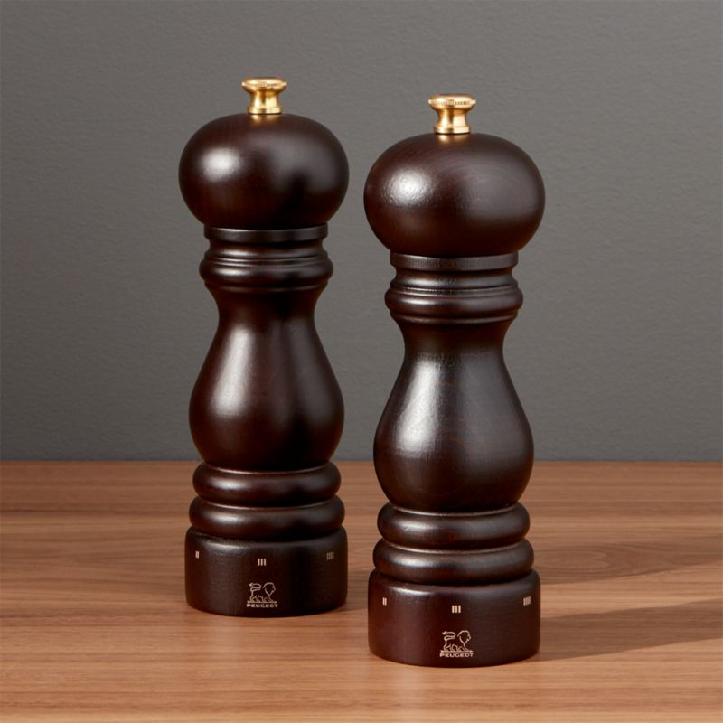 Peugeot Paris Salt And Pepper Mills Crate And Barrel