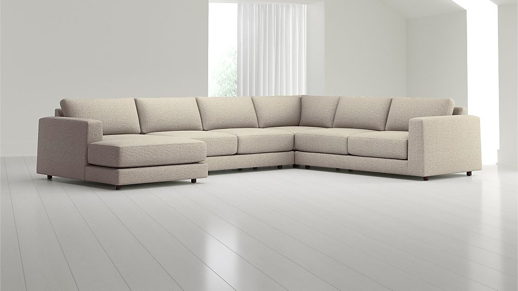 Peyton 4-Piece Left Arm Chaise Sectional - Image 1 of 4