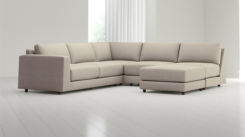 Peyton 4-Piece Left Arm Sofa Sectional - Image 1 of 4
