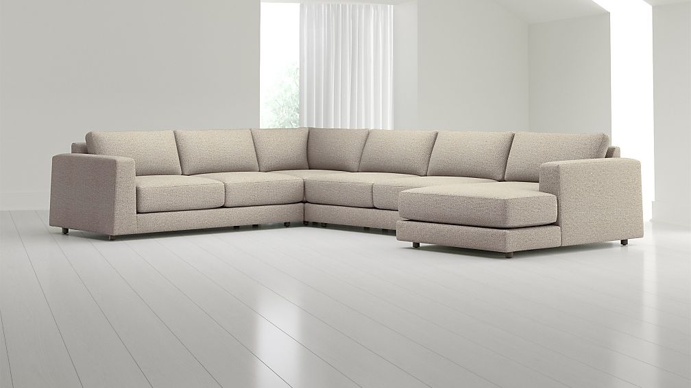 Peyton 4-Piece Right Arm Chaise Sectional - Image 1 of 3