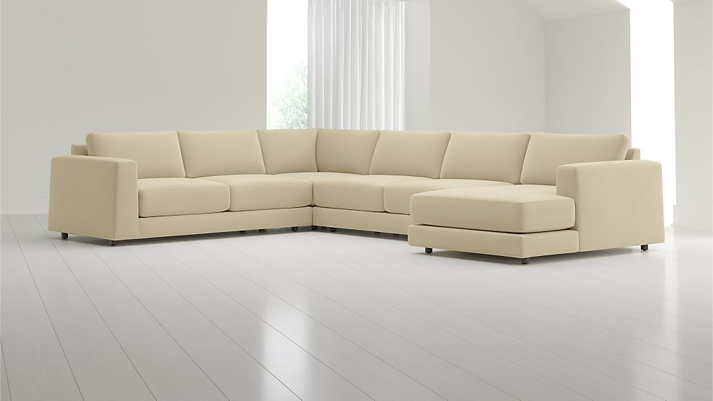 Peyton 4 Piece Sectional Crate And Barrel