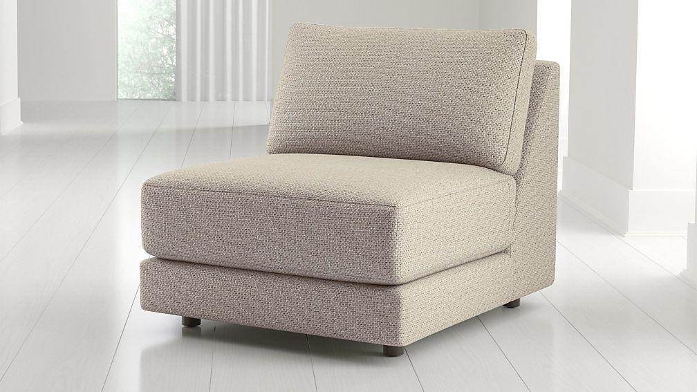 Peyton Armless Chair - Image 1 of 7