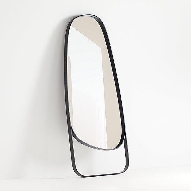 Peyton Asymmetrical Floor Mirror - Image 1 of 4