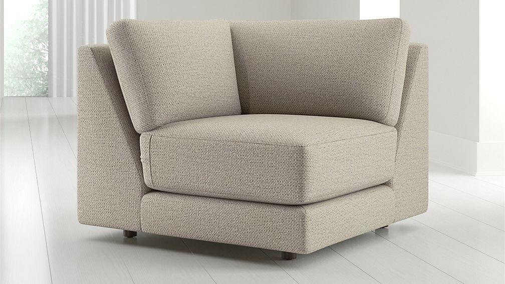 Peyton Corner Chair - Image 1 of 5