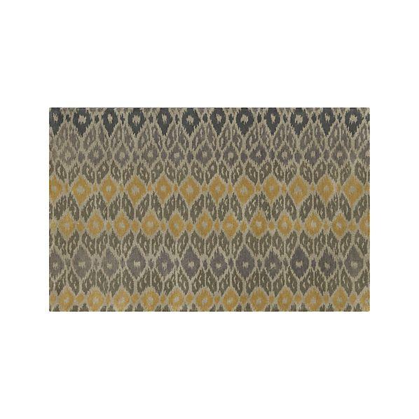 Phila Ikat Wool 5'x8' Rug