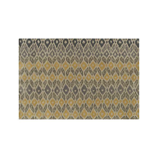 Phila Ikat Wool 6'x9' Rug