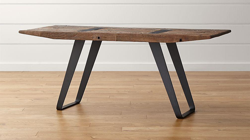 "Phoenix Rustic Work Table 72"" - Image 1 of 12"