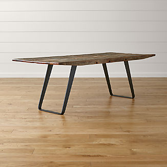 Rustic Wood Tables Crate And Barrel