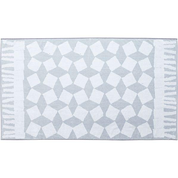Pic-nic Grey-White Beach Towel