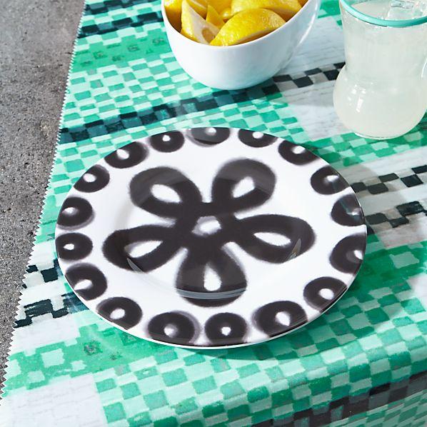 Pic-nic Melamine Loop Rim Salad Plate