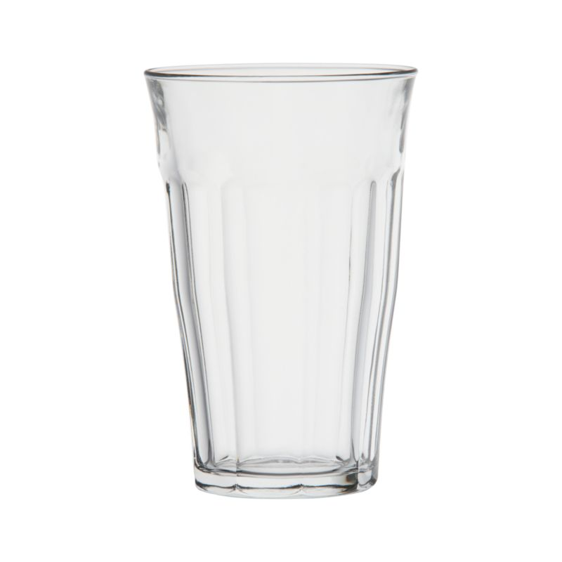 Bistro basics. The daily face of France is reflected in this classic faceted tumbler, which serves up espresso, juice and aperitifs in cafés from Paris to Avignon. Made of heat-tempered glass, safe for hot as well as cold beverages.<br /><br /><NEWTAG/><ul><li>Heat-tempered glass</li><li>Dishwasher- and microwave-safe</li><li>Made in France-Made in France</li></ul>