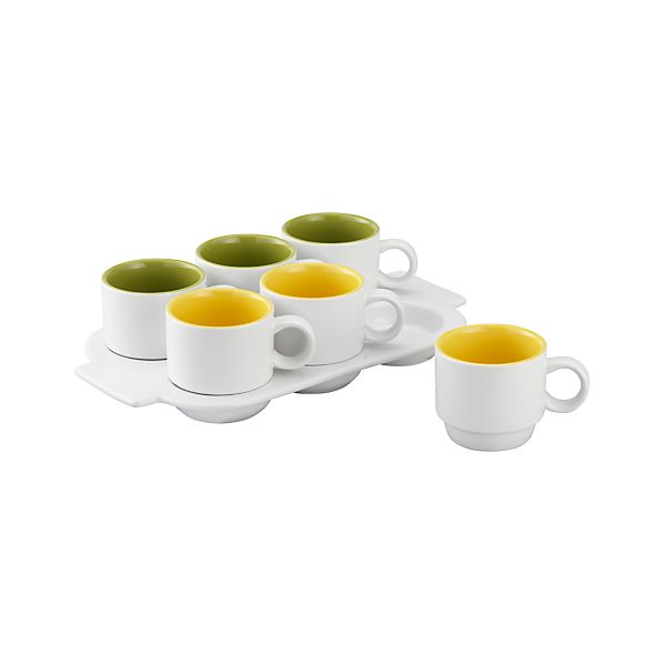 Pick Me Up Mugs with Tray