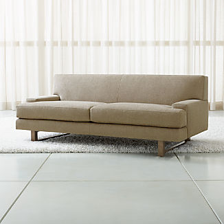 Modern Apartment Sofas   Crate and Barrel