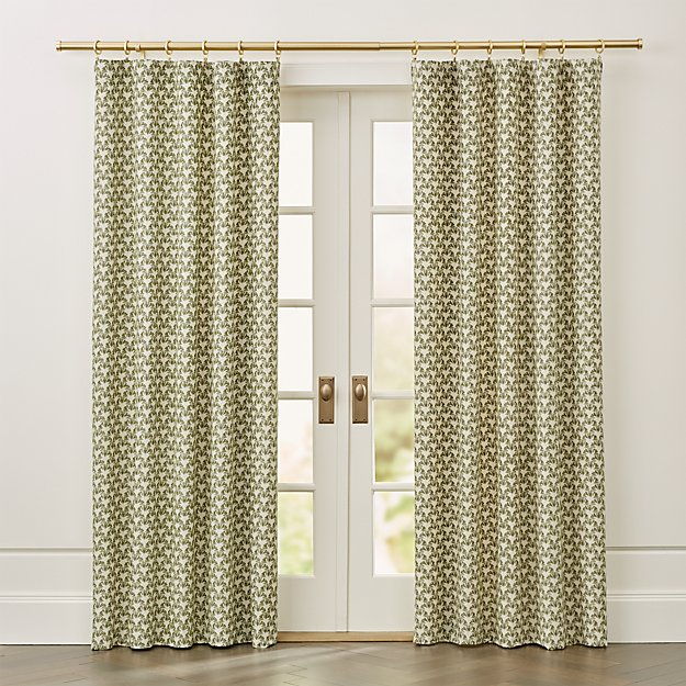 Pieri Ikat Curtain Panel - Image 1 of 8