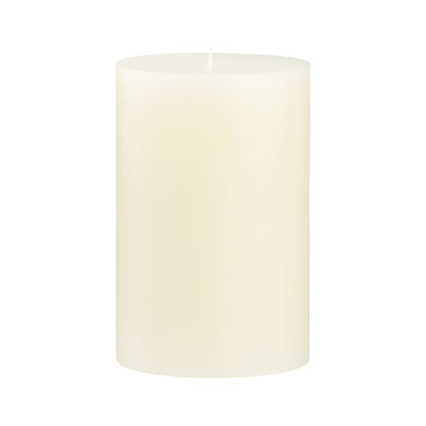 "Ivory 4""x6""Pillar Candle"