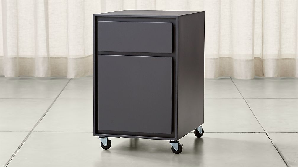 Pilsen Graphite Two Drawer File Cabinet - Image 1 of 5