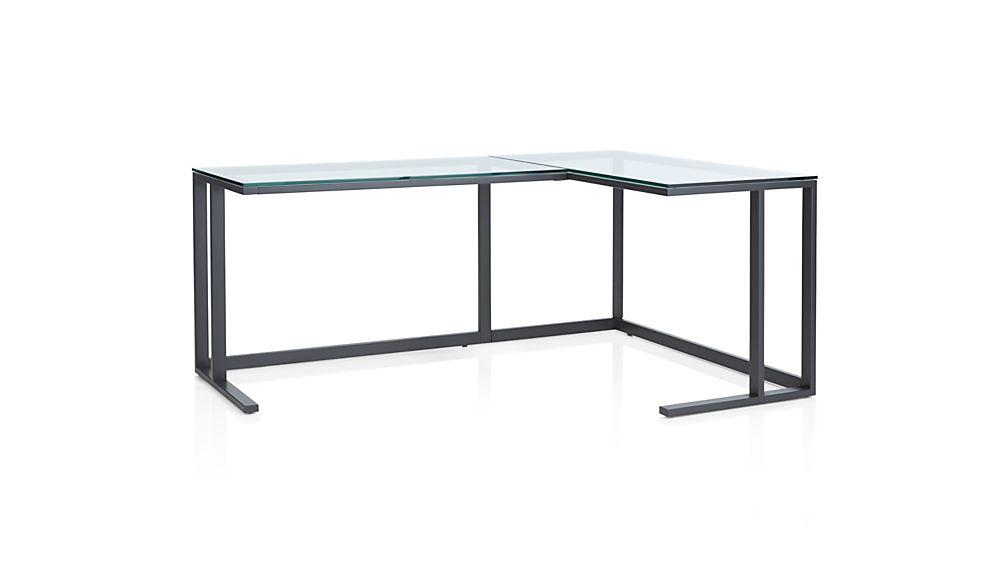 Pilsen Graphite Corner Desk