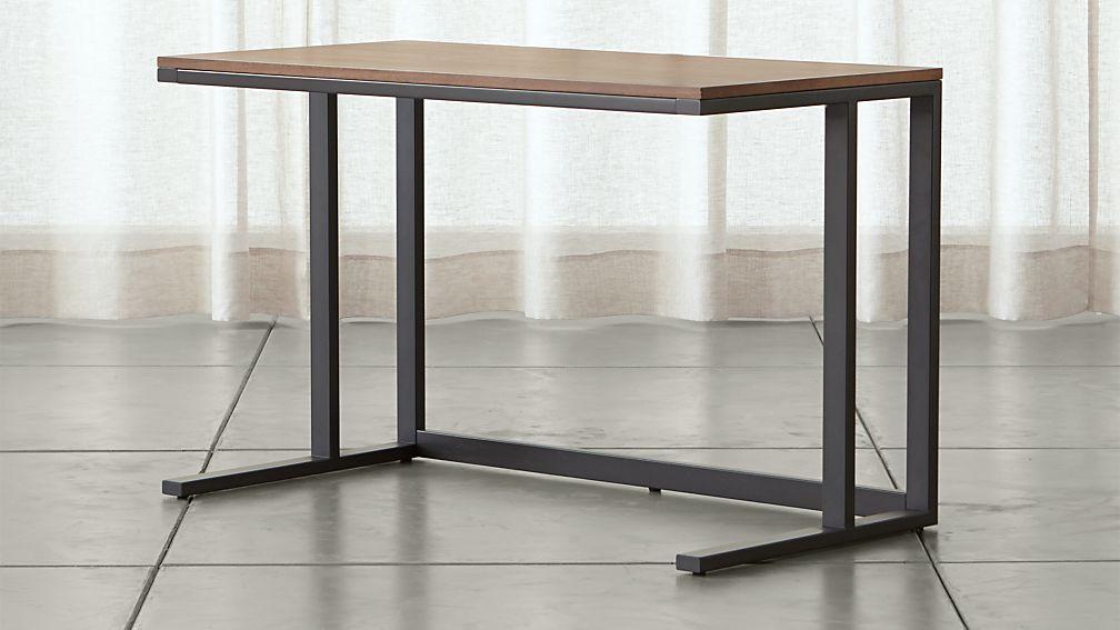 Pilsen Graphite Desk with Walnut Top - Image 1 of 10