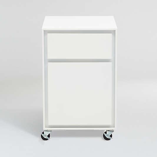 Pilsen Salt Two Drawer File Cabinet