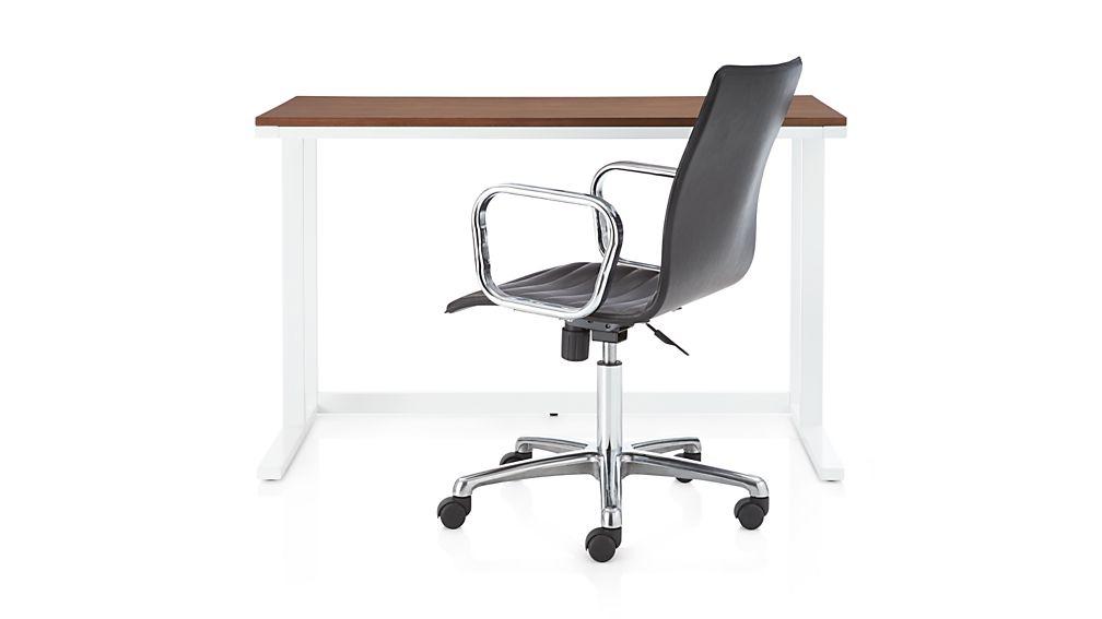 Pilsen Salt Desk with Walnut Top