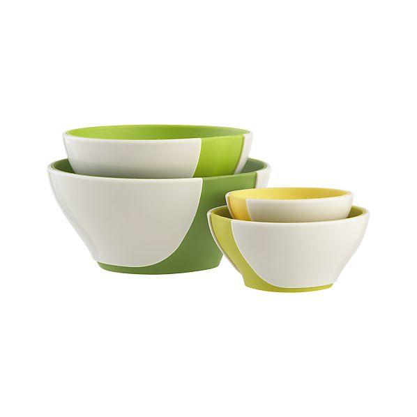 4-Piece Pinch & Pour Prep Nesting Bowl Set