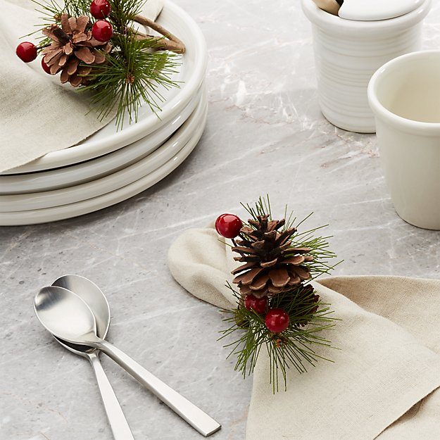 Pine Bough Napkin Ring