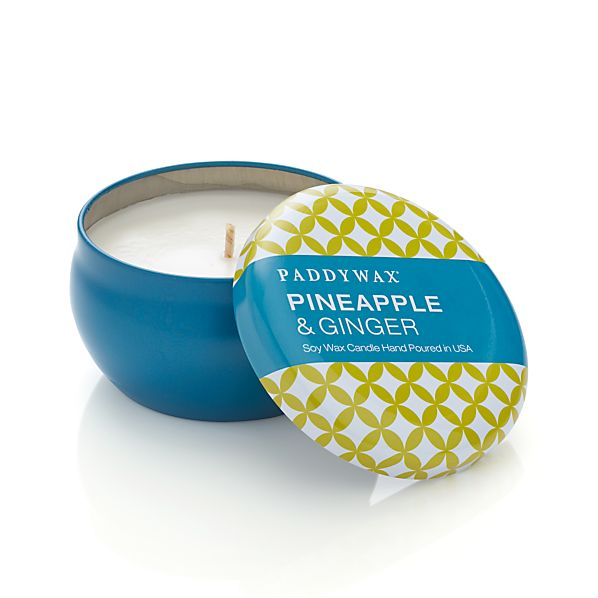 Pineapple and Ginger Scented Candle