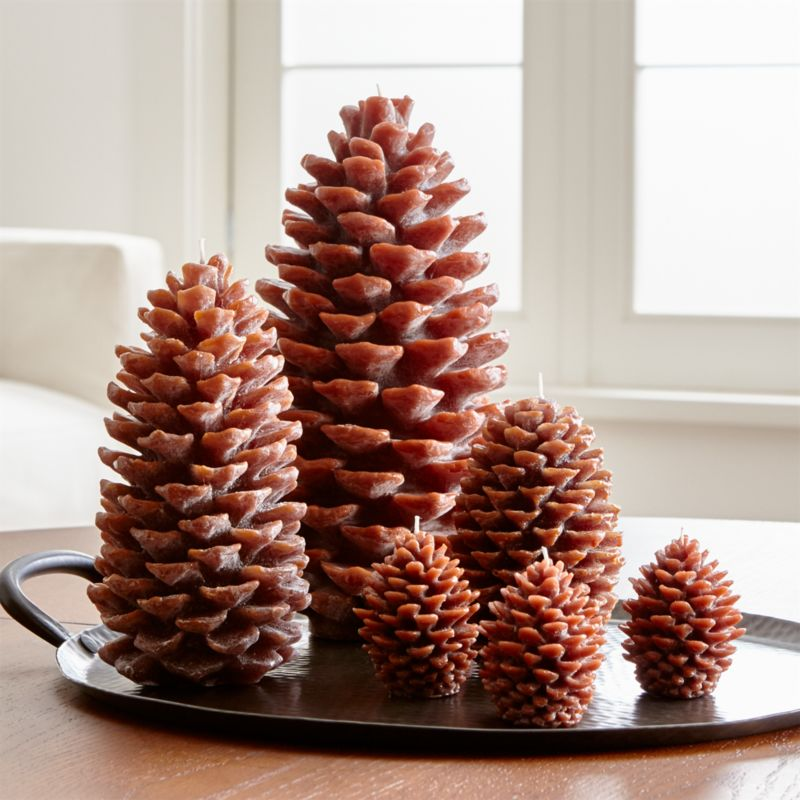 Pinecone Candles Crate And Barrel