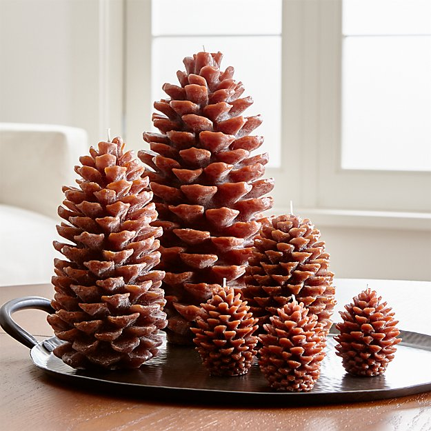 Pinecone Candles - Image 1 of 11