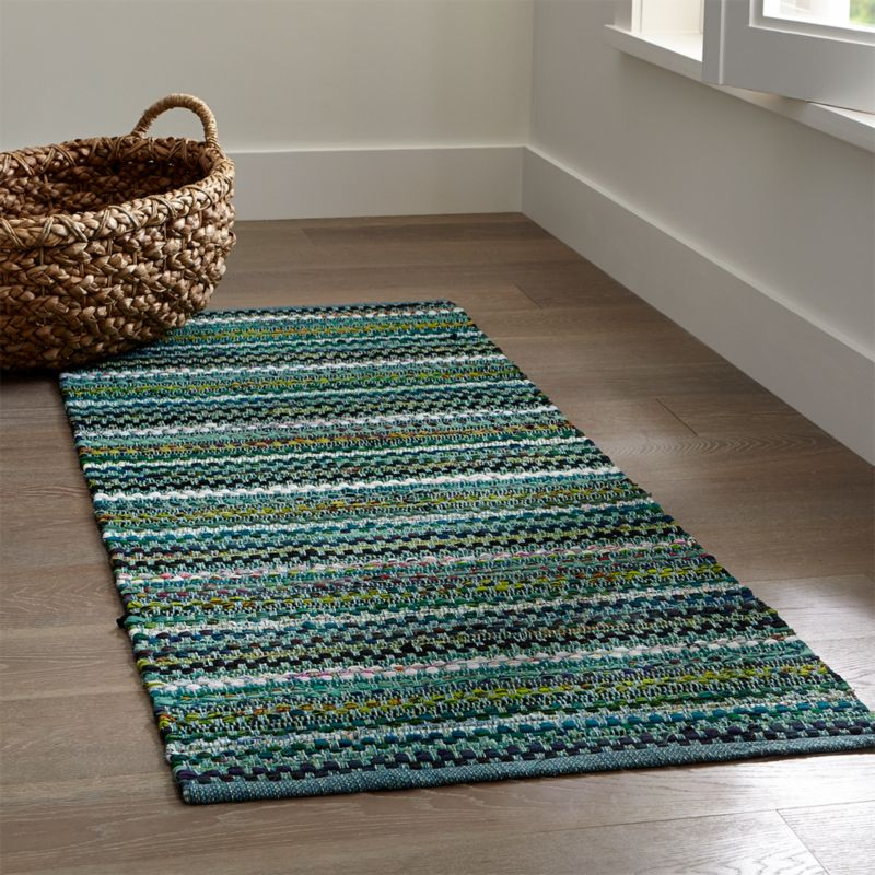 how to clean a cotton rug