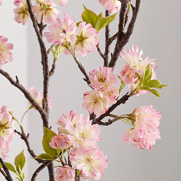 Artificial Pink Cherry Blossom Spray - Image 1 of 4