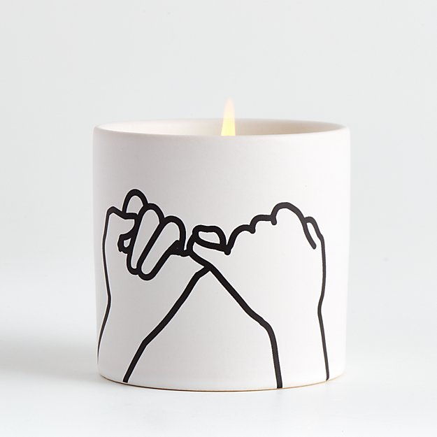 White Pinky Promise Candle - Image 1 of 4
