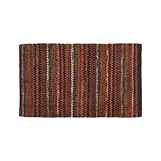 "Pinstripe Copper 30""x50"" Rug"