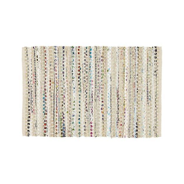 Pinstripe Ivory 2'x3' Rug