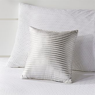 cute kids' pillows they'll love to cuddle | crate and barrel White Fluffy Throw Pillows