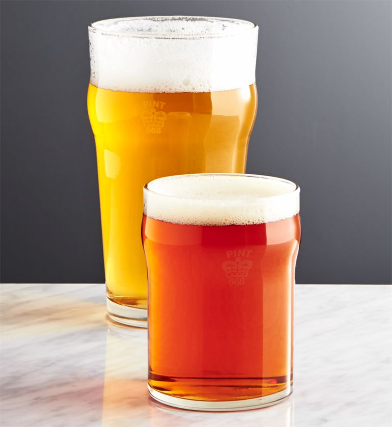 what size is a pint glass