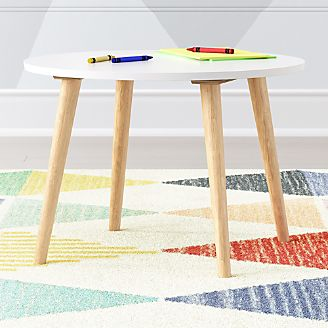 Kids Play And Activity Tables Chairs Crate And Barrel - Table pads atlanta