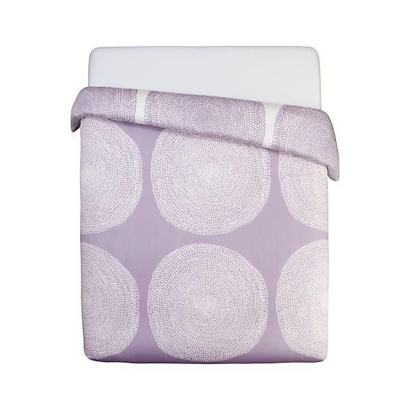 Marimekko Pippurikera Wisteria Twin Comforter