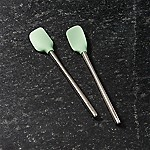 Pistachio Green Mini Spatulas, Set of 2