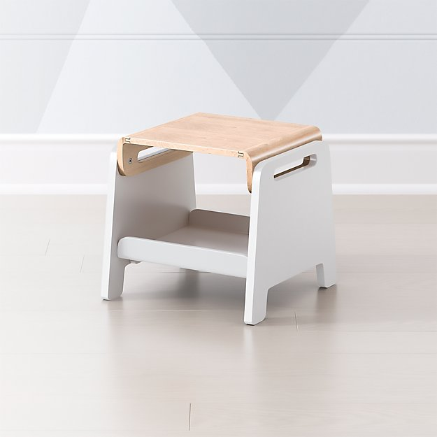 Pivot Adjustable Step Stool Reviews Crate And Barrel