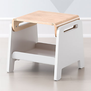 Sensational Toddler Kids Step Stools Crate And Barrel Evergreenethics Interior Chair Design Evergreenethicsorg