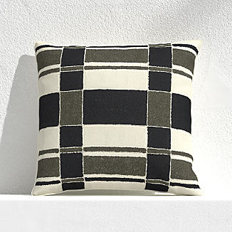 "Mohave Plaid 20"" Outdoor Pillow"