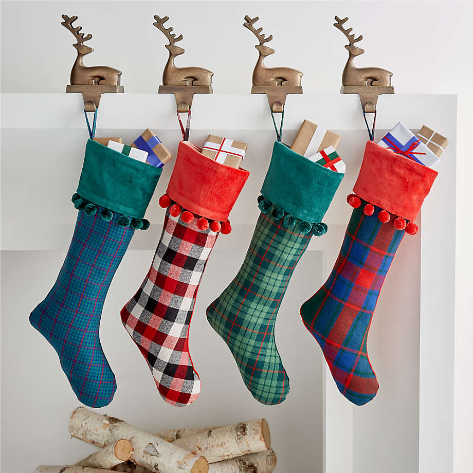 Viewing product image Finn Plaid Stocking