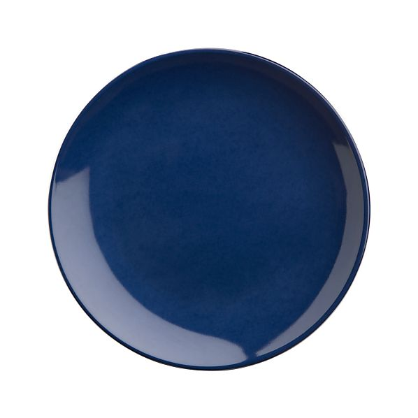"Navy 6.5"" Appetizer Plate"