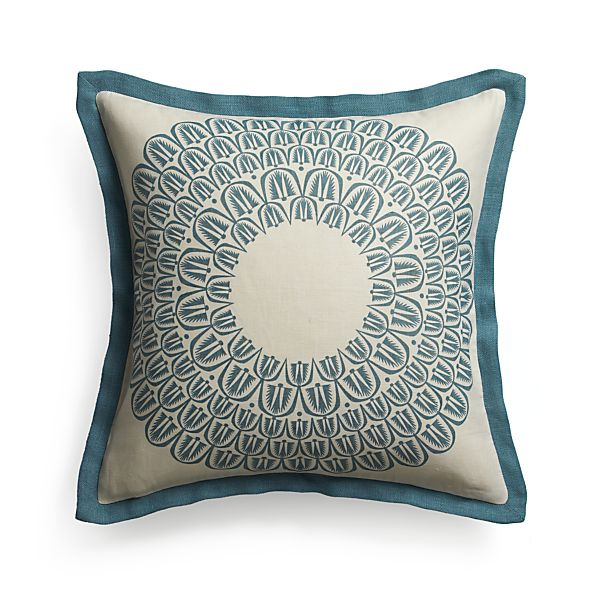 "Pluma 20"" Pillow with Feather Insert"